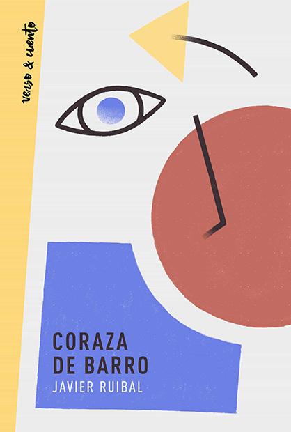 Portada del libro «Coraza de barro» de Javier Ruibal.