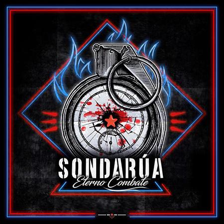 Portada del disco «Eterno Combate» de SonDaRúa.