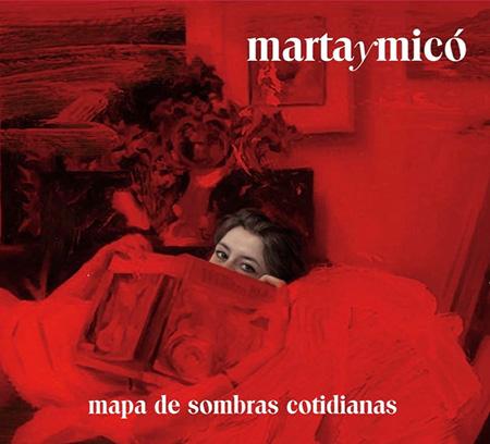 Portada del disco «Mapa de sombras cotidianas» de Marta y Micó.