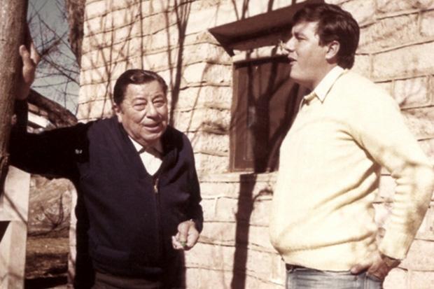 Atahualpa y su hijo, el «Kolla» Roberto.