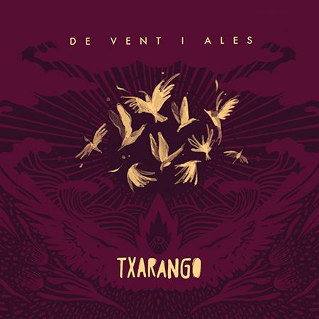 Portada del disco «De vent i ales» de Txarango.