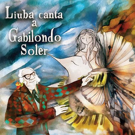 Portada del disco «Liuba canta a Gabilondo Soler» de Liuba María Hevia.