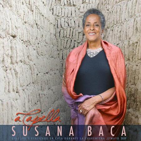Portada del disco «A Capella» de Susana Baca.