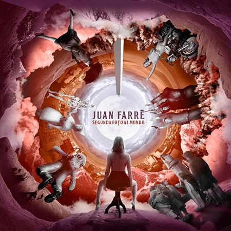 Portada del disco «Segunda foto al mundo» de Juan Farré.