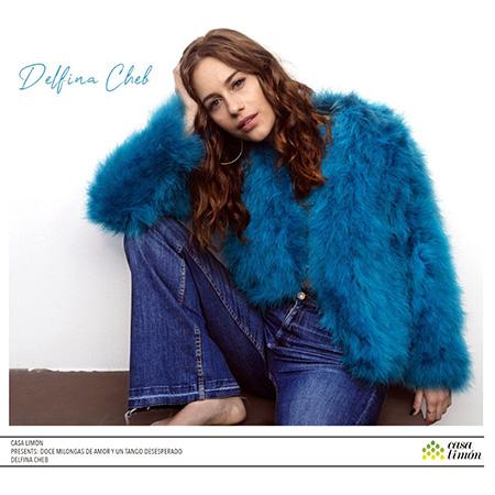 Portada del disco «Doce milongas de amor y un tango desesperado» de Delfina Cheb.