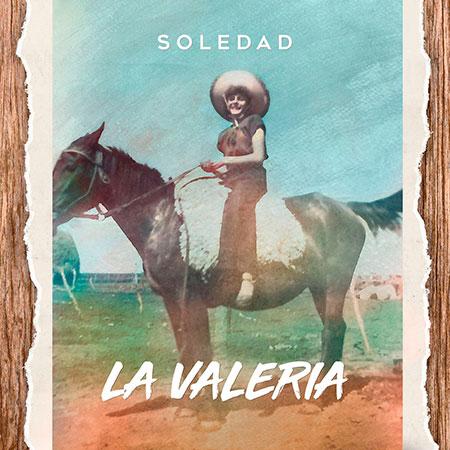 Portada del single «La Valeria» de Soledad Pastorutti.