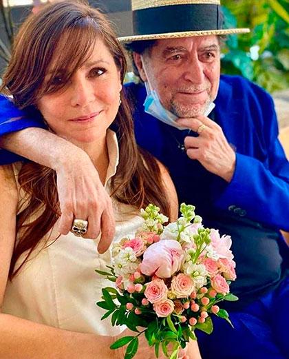 Jimena Coronado y Joaquín Sabina. © Instagram Joaquín Sabina