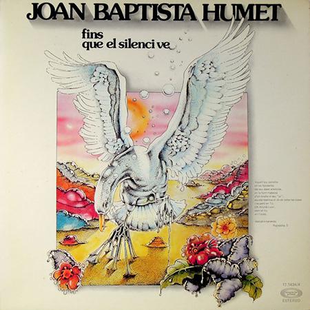 Portada del disco «Fins que el silenci ve» de Joan Baptista Humet.