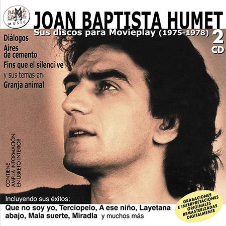 Portada del disco «Sus discos para Movieplay» de Joan Baptista Humet.