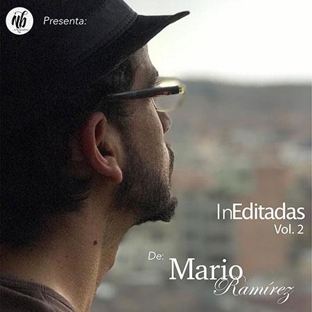 Portada del disco «InEditadas Vol. 2» de Mario Ramírez.