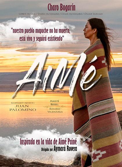 Cartel de la serie «Aimé» de Aymará Rovera.
