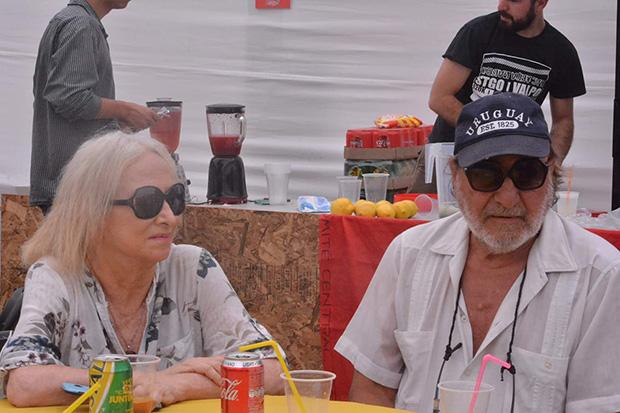 Alejandra Lastra y Patricio Manns.