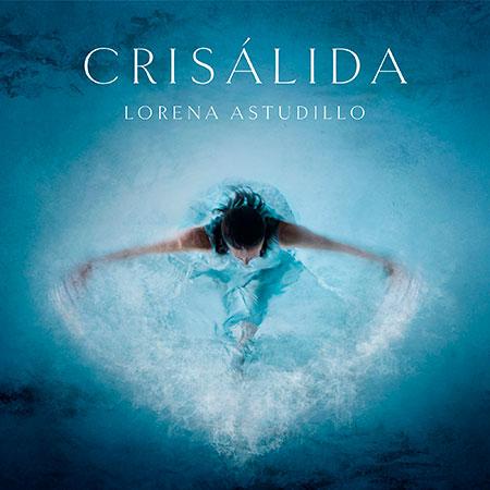 Portada del disco «Crisálida» de Lorena Astudillo.