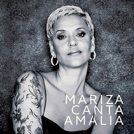 Portada del disco «Mariza canta Amália» de Mariza.