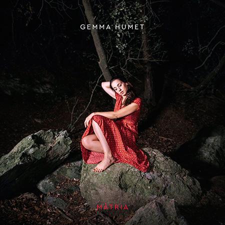 Portada del disco «Màtria» de Gemma Humet.