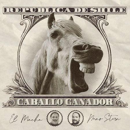 Portada del single «Caballo ganador» de Nano Stern y El Macha.