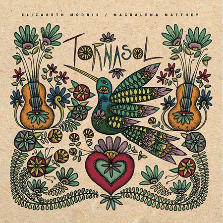 Portada del EP «Tornasol» Magdalena Matthey y Elizabeth Morris.