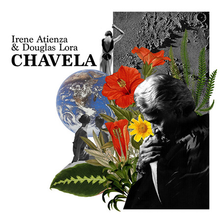 Portada del disco «Chavela» de Irene Atienza y Douglas Lora.