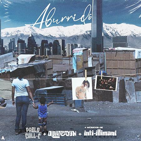Portada del single de Quilapayún y Pablo Chill-E.