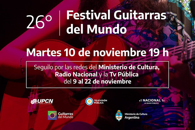 XXVI festival Guitarras del Mundo 2020.