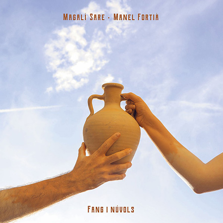 Portada del disco «Fang i núvols» de Magalí Sare y Manel Fortià.