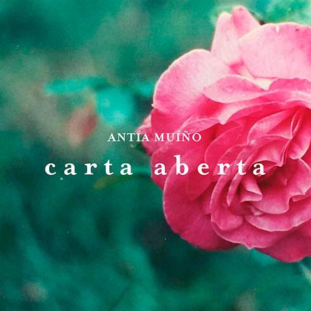 Portada del single «Carta aberta» de Antía Muíño.