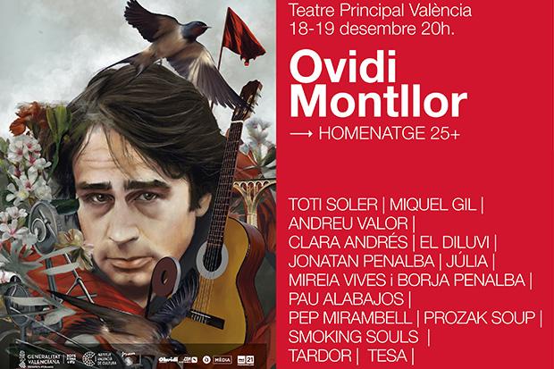 Catorce músicos rendirán homenaje a Ovidi Montllor.