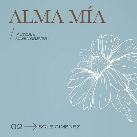 Portada del single «Alma mía» de Sole Giménez.