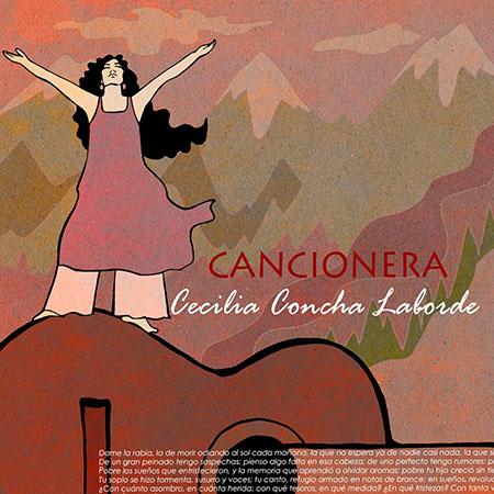 Portada del disco «Cancionera» de Cecilia Concha-Laborde.