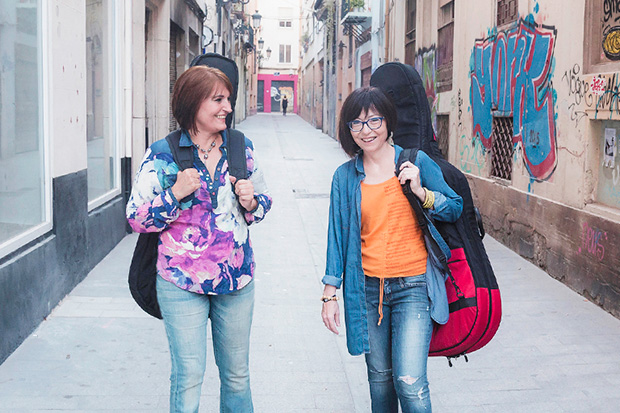 Eva Dénia i Merxe Martínez © Juanan Fossati
