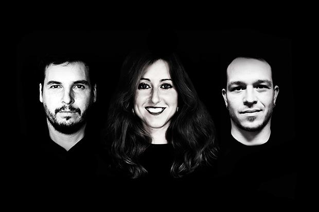 Pau Alabajos, Aina Torres i Edgar Casellas © Tinta i Desordre