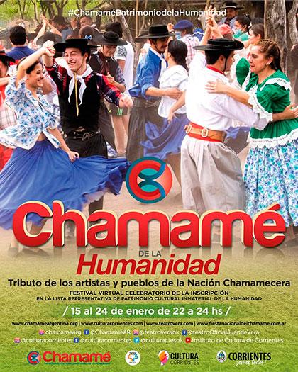 Fiesta Nacional virtual del Chamamé 2021