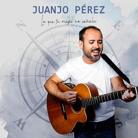 Portada del disco «Lo que tu mapa no señala» de Juanjo Pérez.