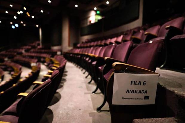 Vista del Teatro Picadero el 17 de noviembre de 2020, en Buenos Aires (Argentina). © EFE Juan Ignacio Roncoroni