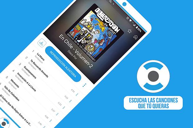 Portaldisc App, la primera aplicación streaming dedicada a la música chilena.