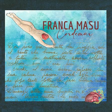 Portada del disco «Cordemar» de Franca Masu.