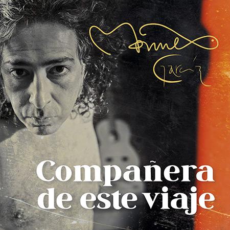 Portada del disco «Compañera de este viaje» de Manuel García.