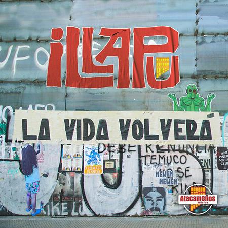 Portada del disco «La vida volverá» de Illapu.
