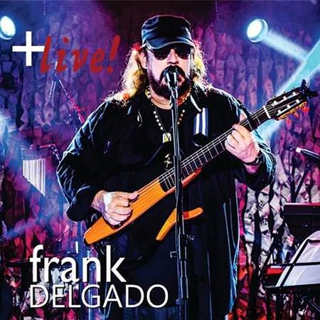 Portada del disco « Live (Más, en Vivo)» de Frank Delgado.