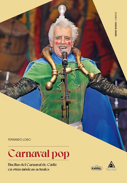 Portada del libro «Carnaval Pop» de Fernando Lobo.