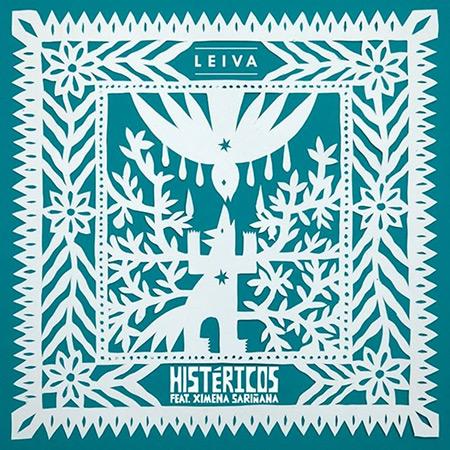 Portada del single «Histéricos» de Leiva con Ximena Sariñana.