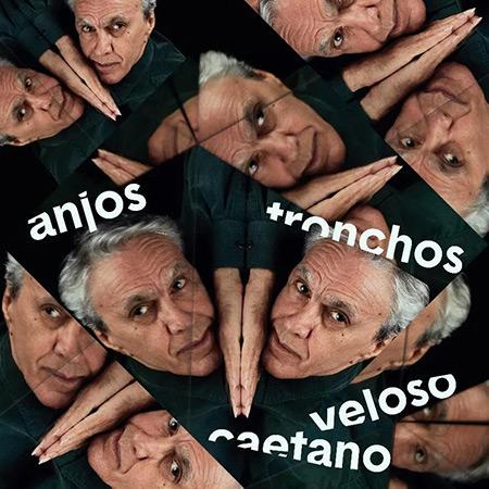 Portada del single «Anjos tronchos» de Caetano Veloso.