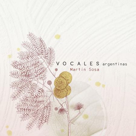 Portada del disco «Vocales argentinas» de Martín Sosa.