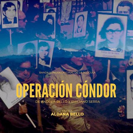 Portada del disco «Operación Cóndor» de Aldana Bello.