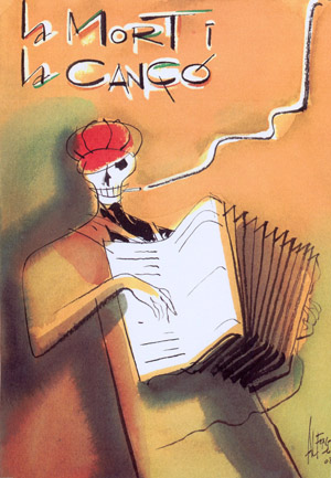 Cartel de Alfons López para la exposición