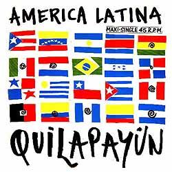 América Latina (Maxi single) (Quilapayún) [1987]