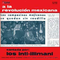 A la revolución mexicana (Inti-Illimani) [1969]