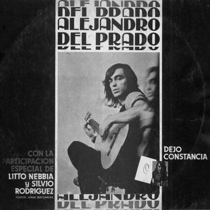 Dejo constancia (Alejandro del Prado) [1982]