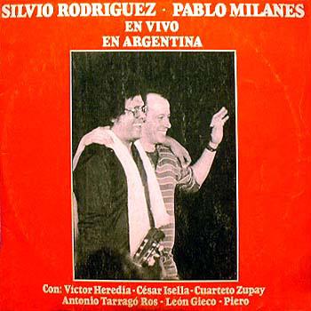 En vivo en Argentina (Silvio Rodr�guez - Pablo Milan�s)