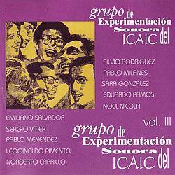 Grupo de Experimentación Sonora del ICAIC, vol III (GESI) [1997]